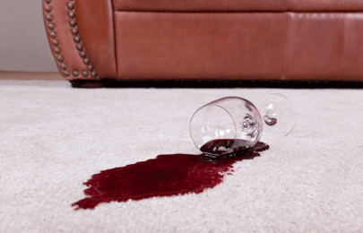 Tough stains get cleaned from rugs
